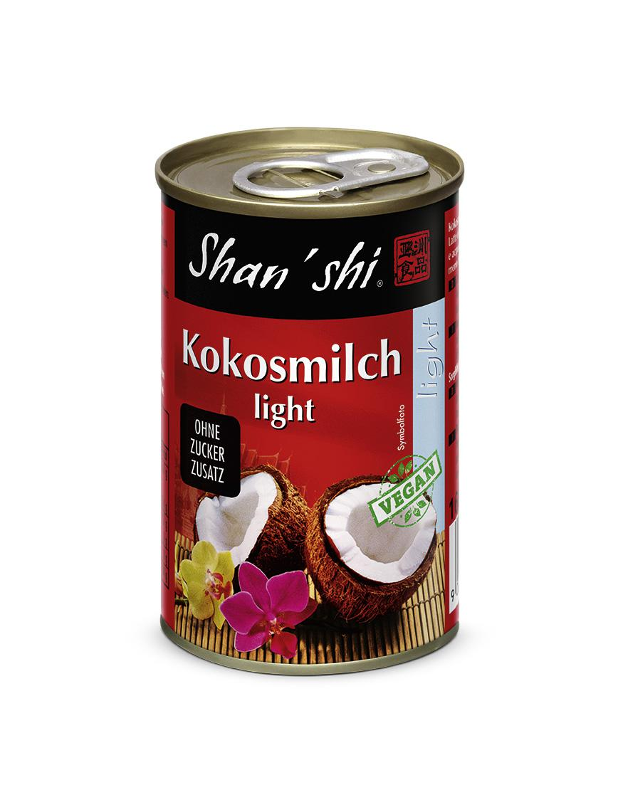 Kokosmilch light