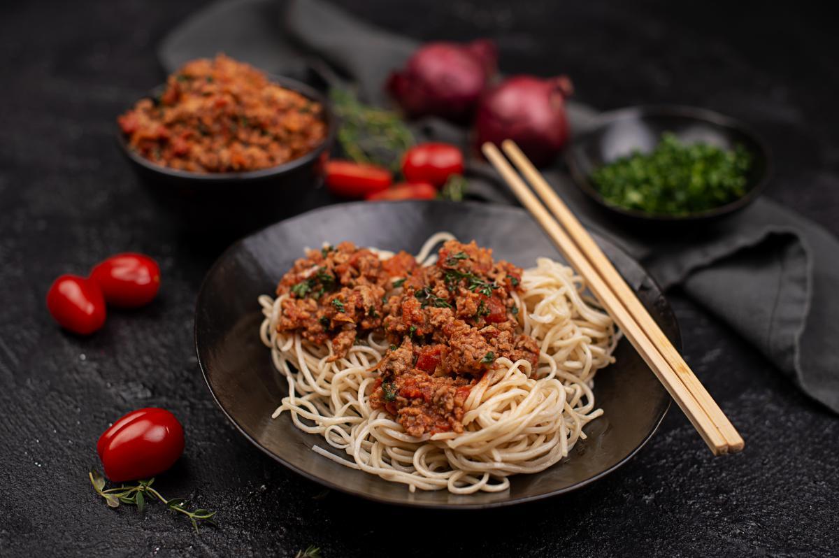 Asiatische Bolognese